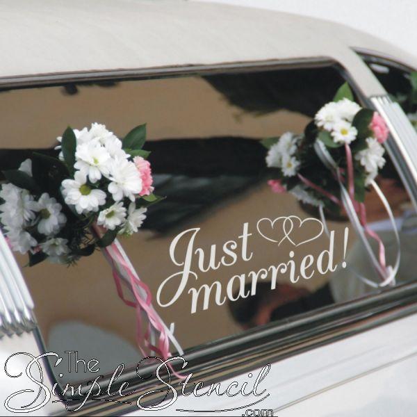 Wedding-Car-Decorations-Ideas-Vinyl-Lettering