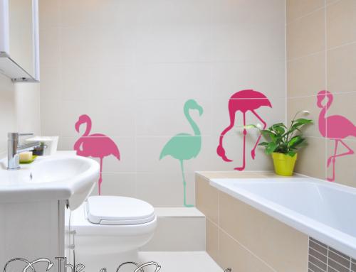 Flamingo Wall Art – Tropical Paradise Pop Art