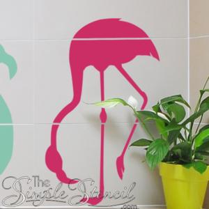 Flamingo Pop Wall Art & Decals
